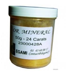 Or Minéral 24 carats Vif - 50 gr