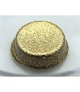 Or Coquille 23,75 carats - environ 0,4 gr - soluble à l'eau
