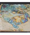 Cuivre Oxydé Bleu - 140 X 140 mm Libre - Le carnet de 25 feuilles
