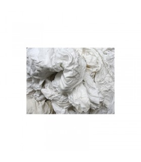 Chiffon s coton blanc carton de 10KGS