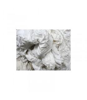 Chiffons coton blanc carton de 10 kg