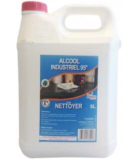 Alcool industriel 95 - Bidon 5L