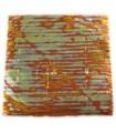 Cuivre oxydé soleil couchant var13 - 140 x 140 mm - Le carnet de 25 feuilles