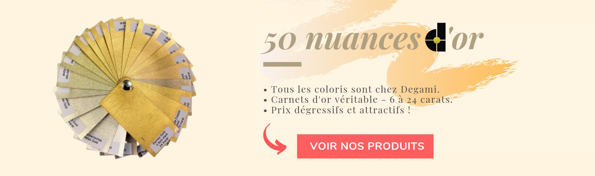 50 nuances de feuilles d'or