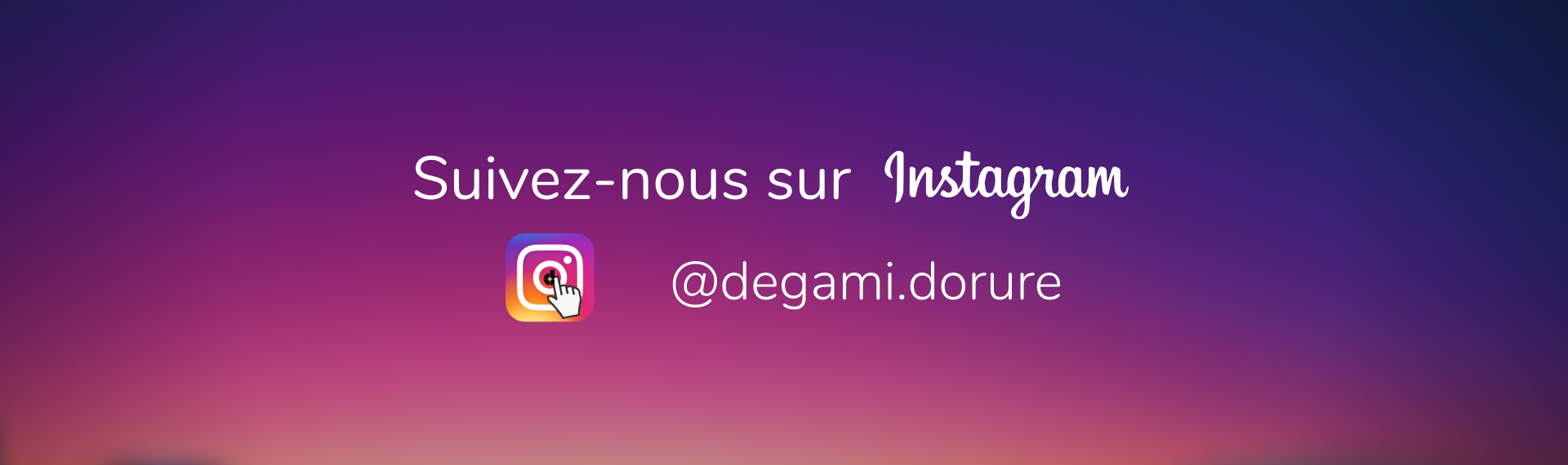 Instagram Degami dorure